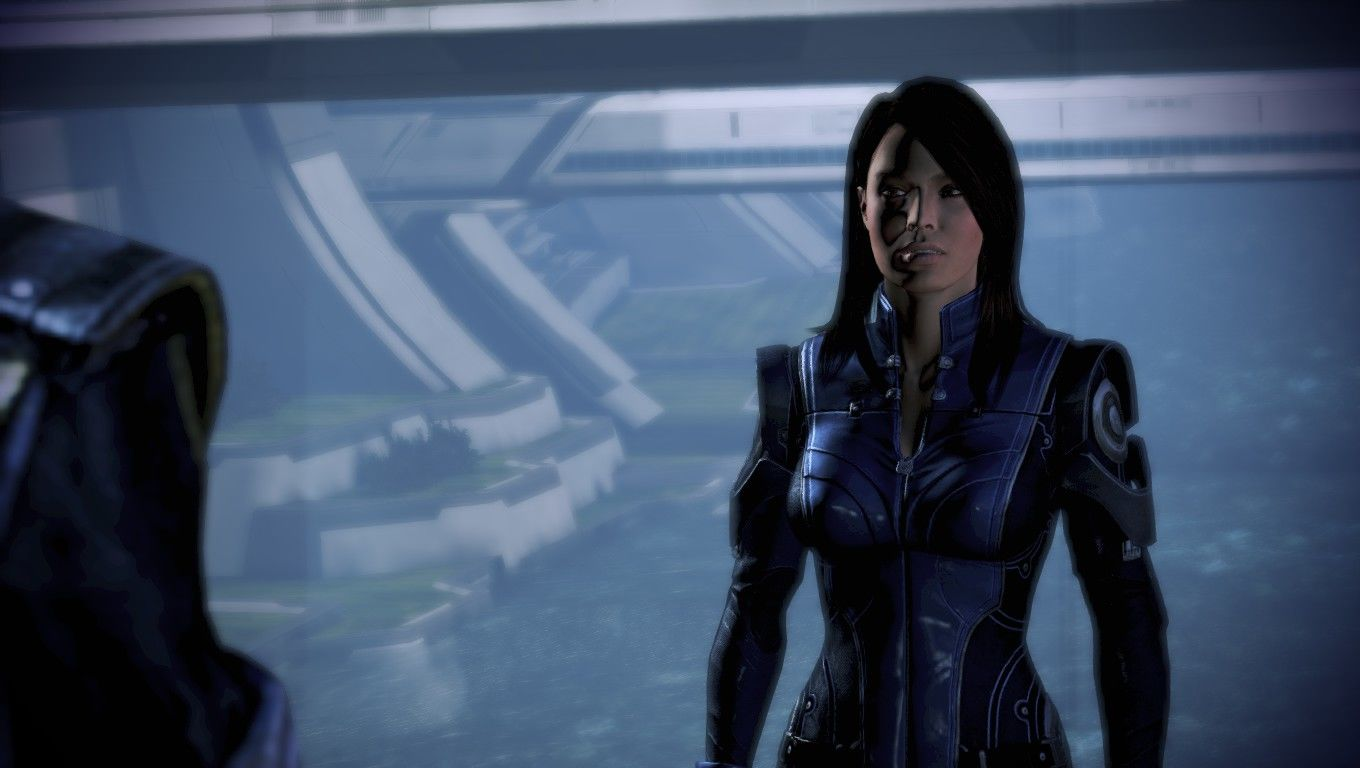 Mass Effect 3 Windows Williams has a new look.