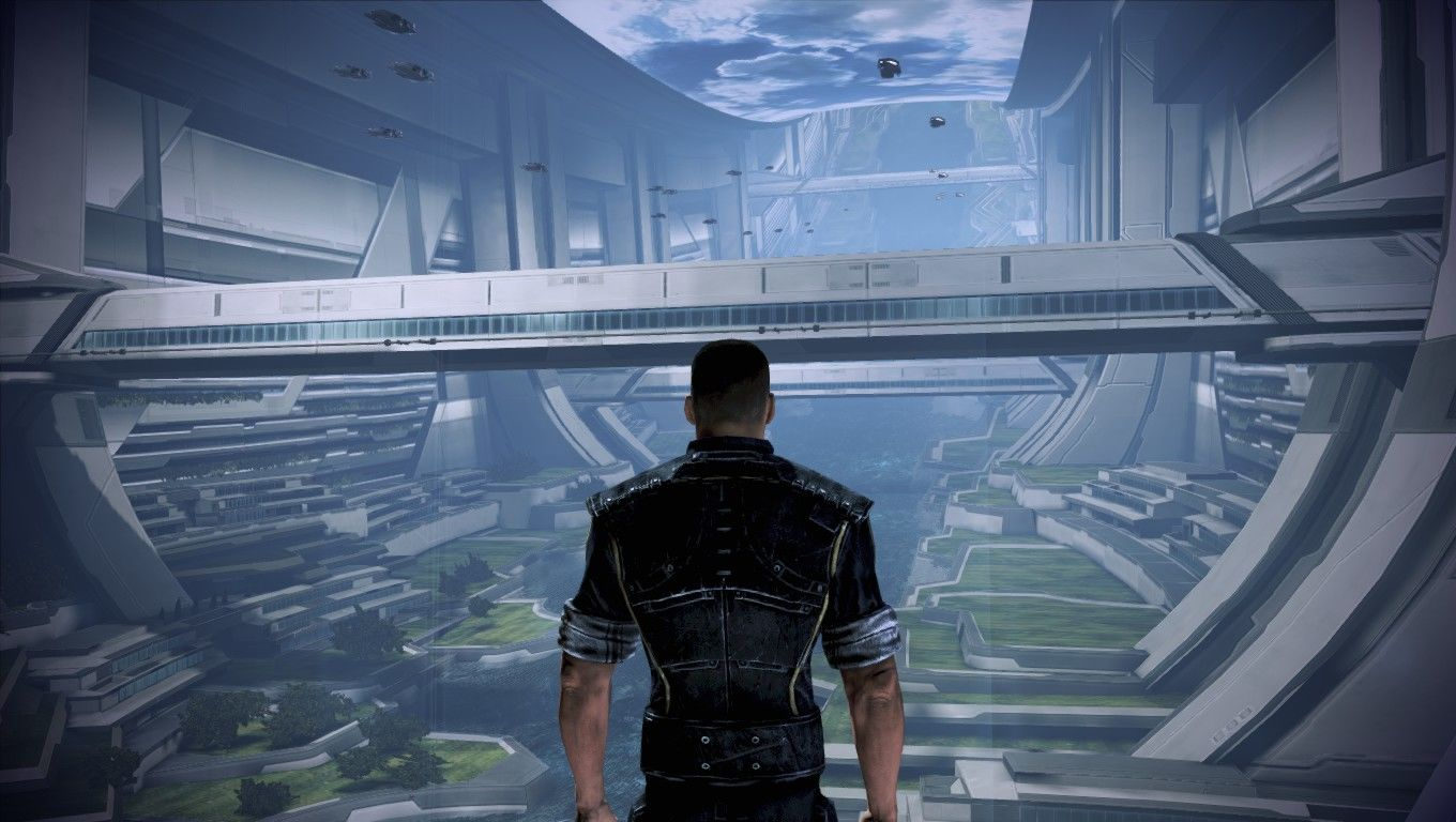 Mass Effect 3 Windows The Citadel looks great.