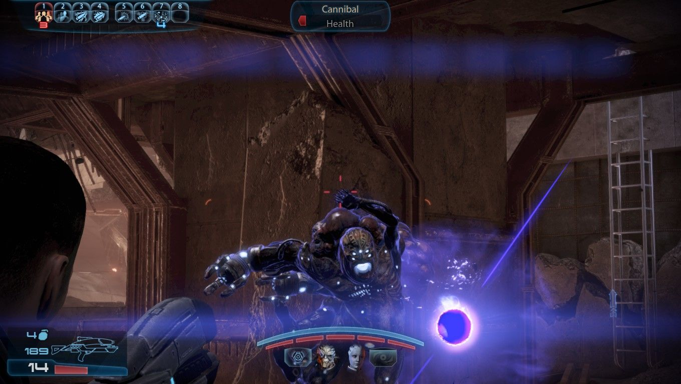 Mass Effect 3 Windows Adept Powers in action