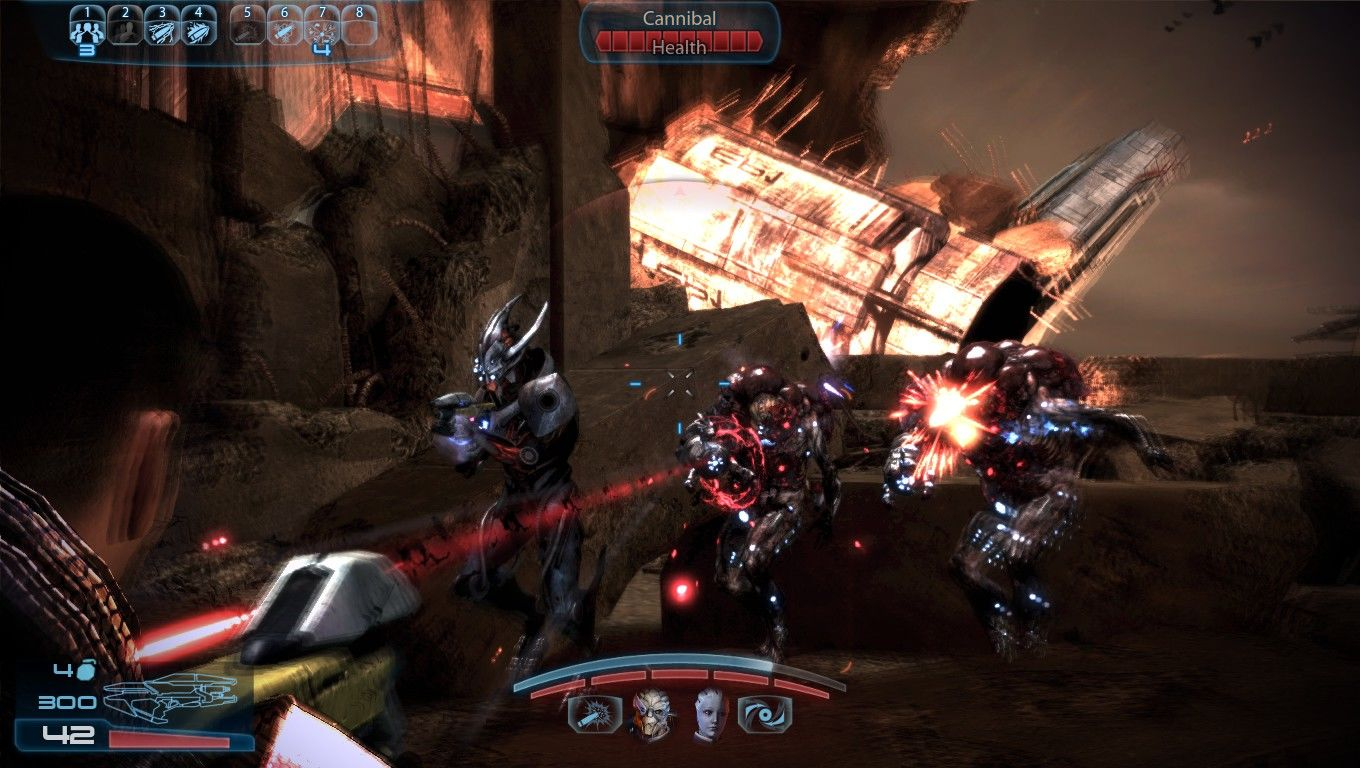 Mass Effect 3 Windows Several new enemy types