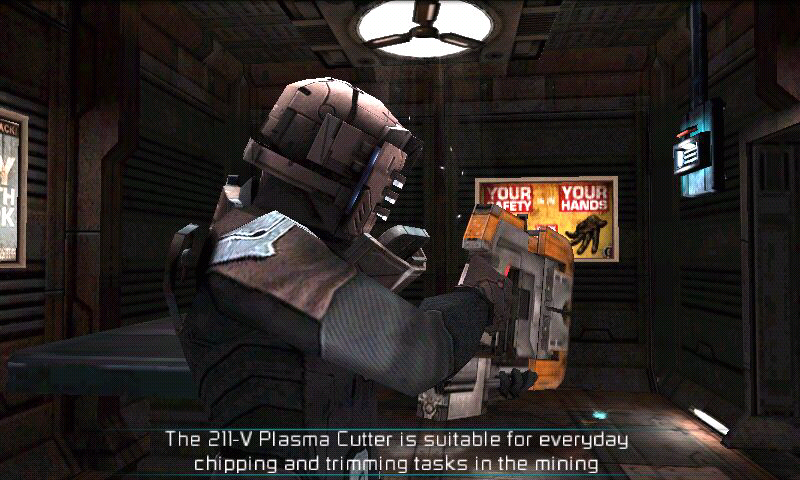 dead space screenshots for android mobygames