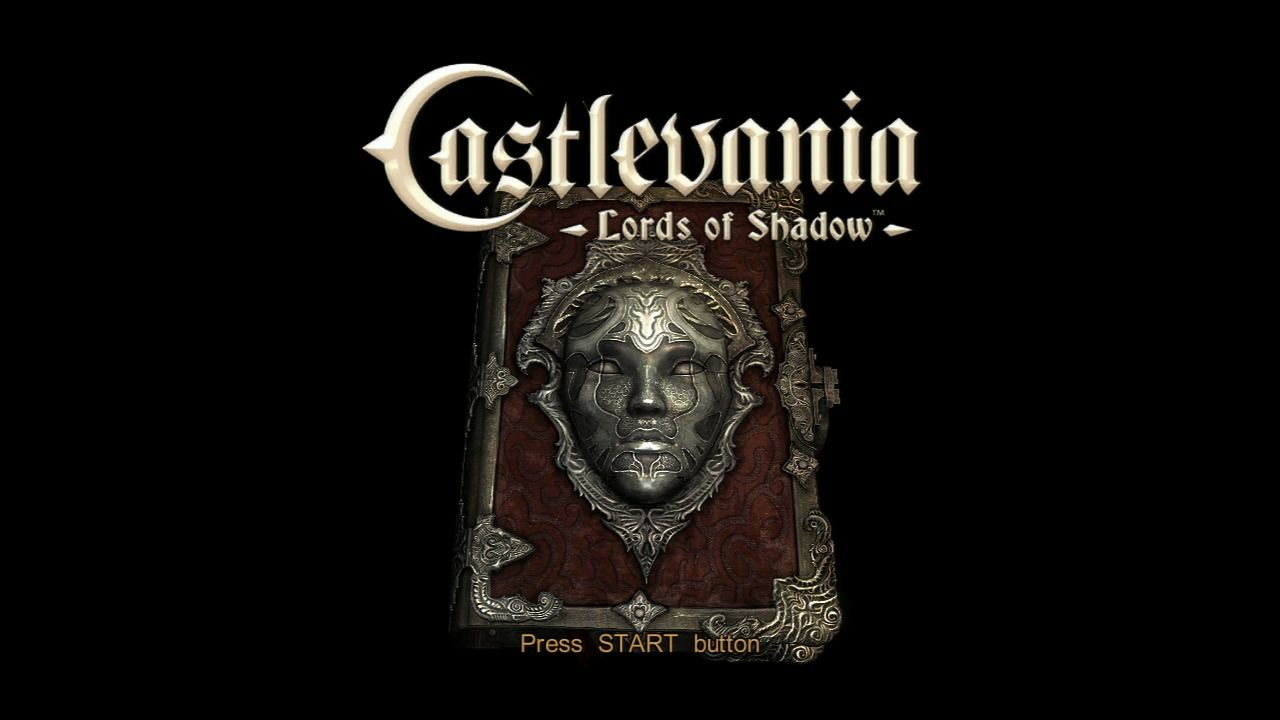 Castlevania: Lords of Shadow PlayStation 3 Main title.