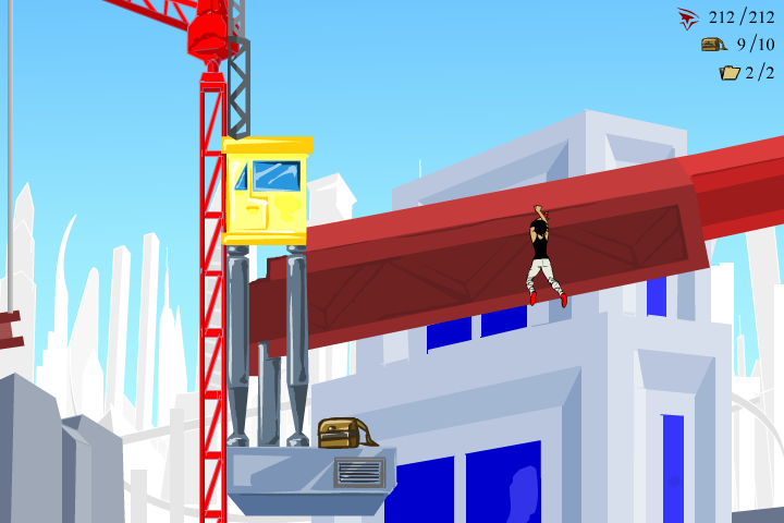 Mirror's Edge 2D Browser Some bags are well-hidden