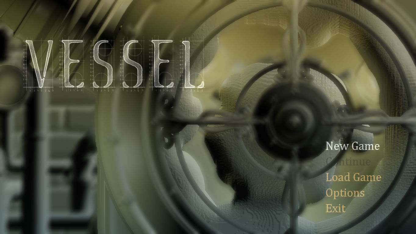 Vessel Windows Main menu
