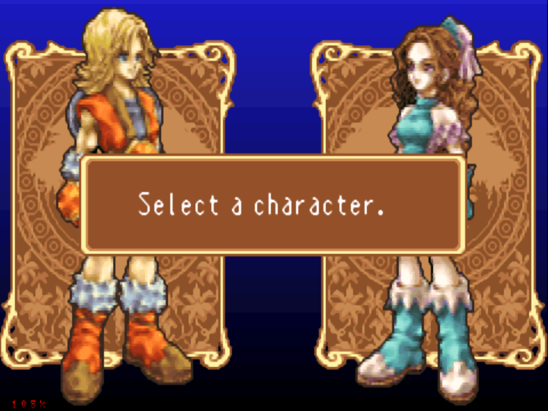 Sword of Mana Game Boy Advance Two characters to choose from... each with a bit different story
