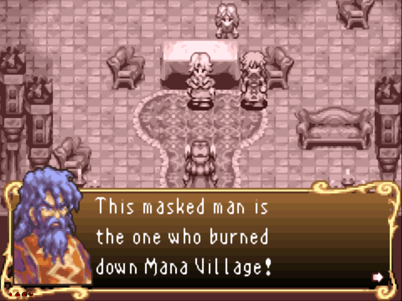Sword of Mana Game Boy Advance Plot introduction...