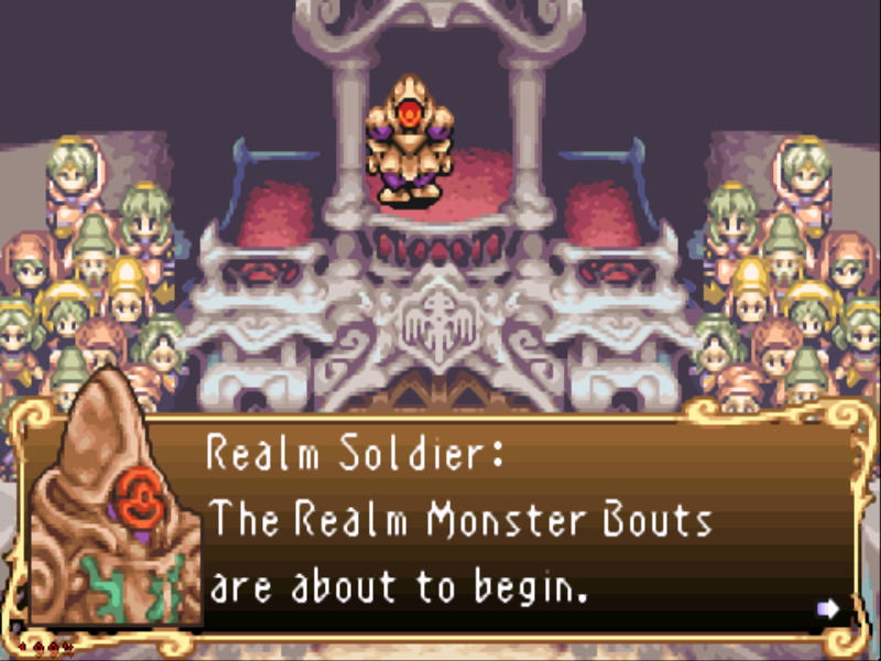 Sword of Mana Game Boy Advance You start the game as a slave who performs in gladiator tournaments...