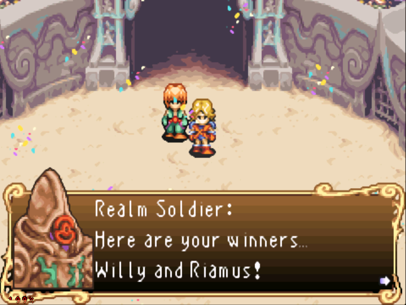Sword of Mana Game Boy Advance Now to make our escape...