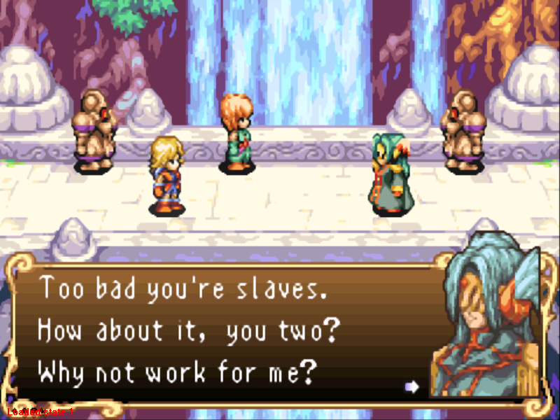 Sword of Mana Game Boy Advance Oops... We were caught... Should we work for the bad guy?