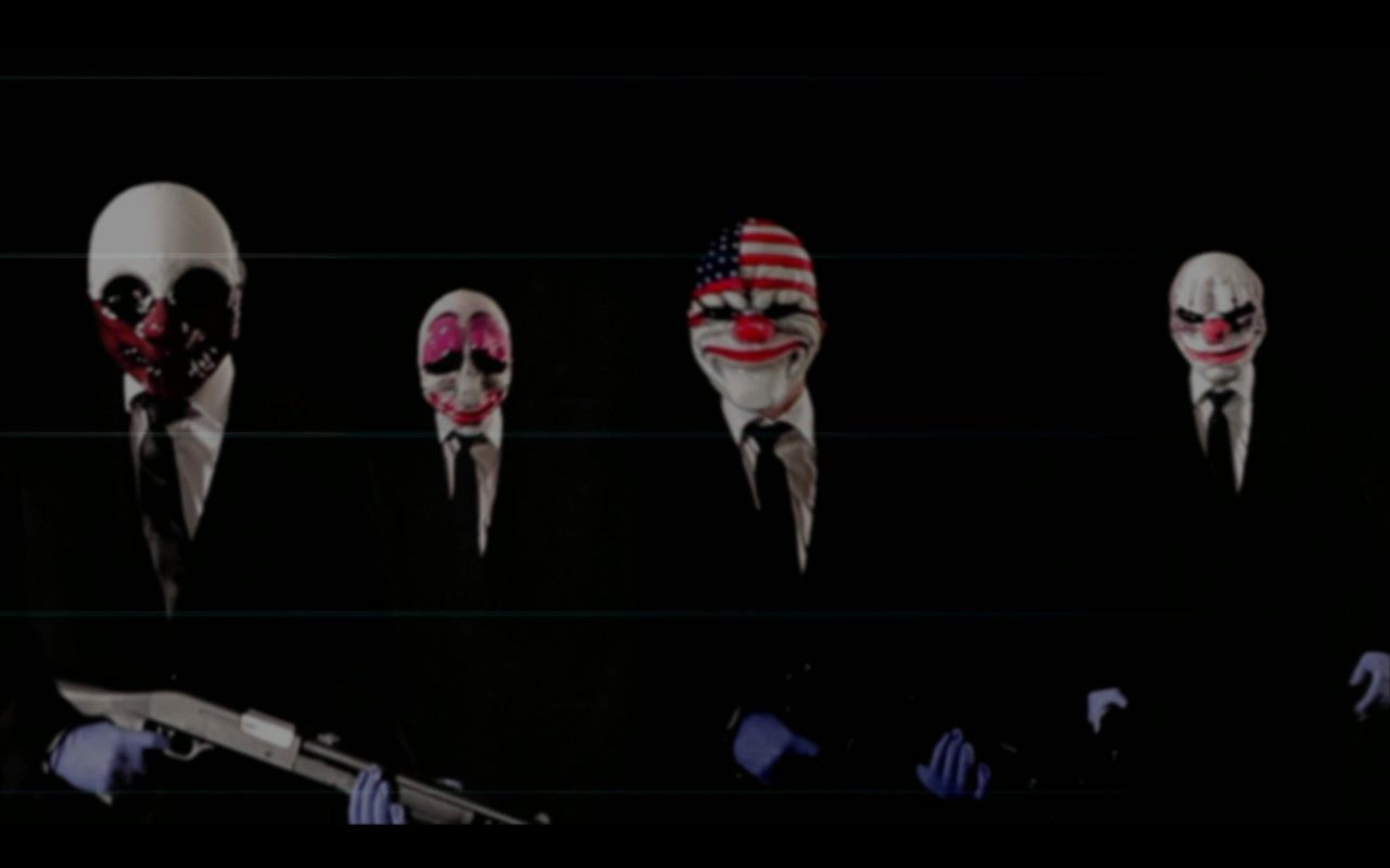 Payday: The Heist Windows The game's four characters