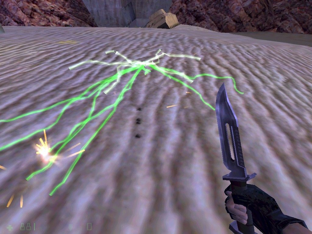 Half-Life: Opposing Force Windows An enemy warp portal left open (it's all a matter of timing).