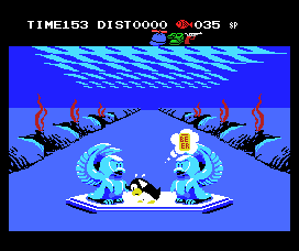 Penguin Adventure MSX Hmm, thinking of beer helps as well!