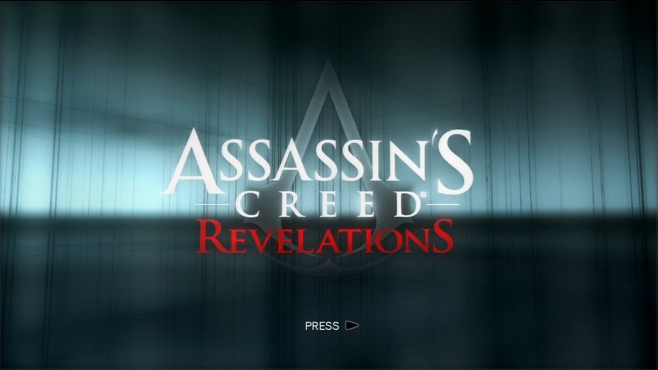 Assassin's Creed: Revelations PlayStation 3 Main title.