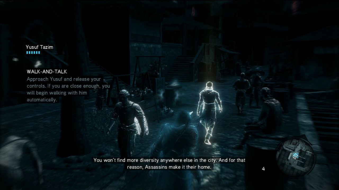 Assassin's Creed: Revelations PlayStation 3 When you don't know where-to next, switch to your spectral vision.
