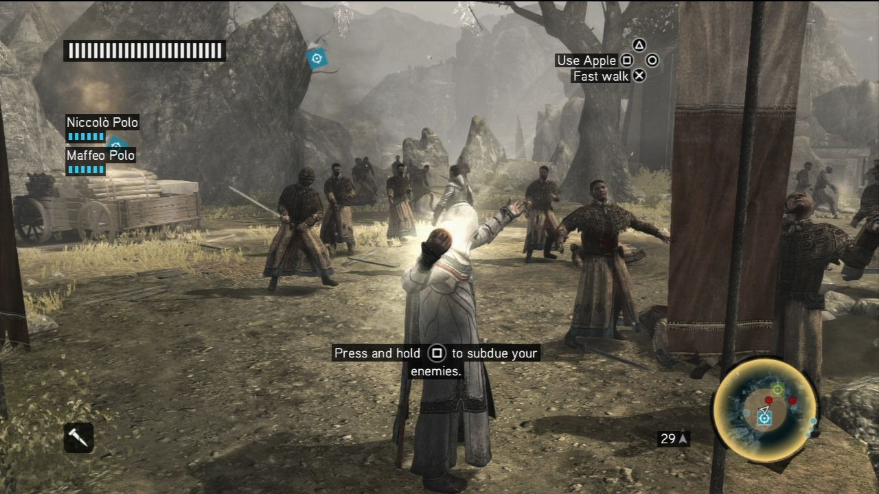 Assassin's Creed: Revelations PlayStation 3 Altair using the powerful apple we've seen and used in some of the prequels.