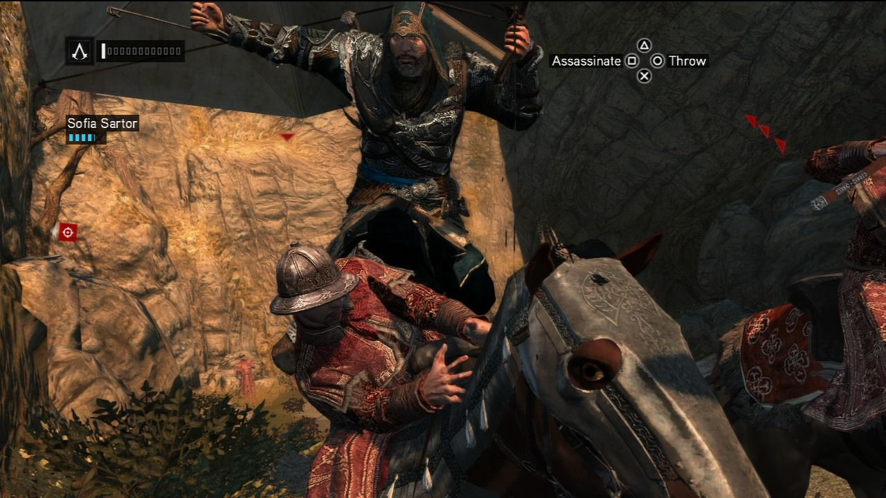 Assassin's Creed: Revelations PlayStation 3 Death from above.