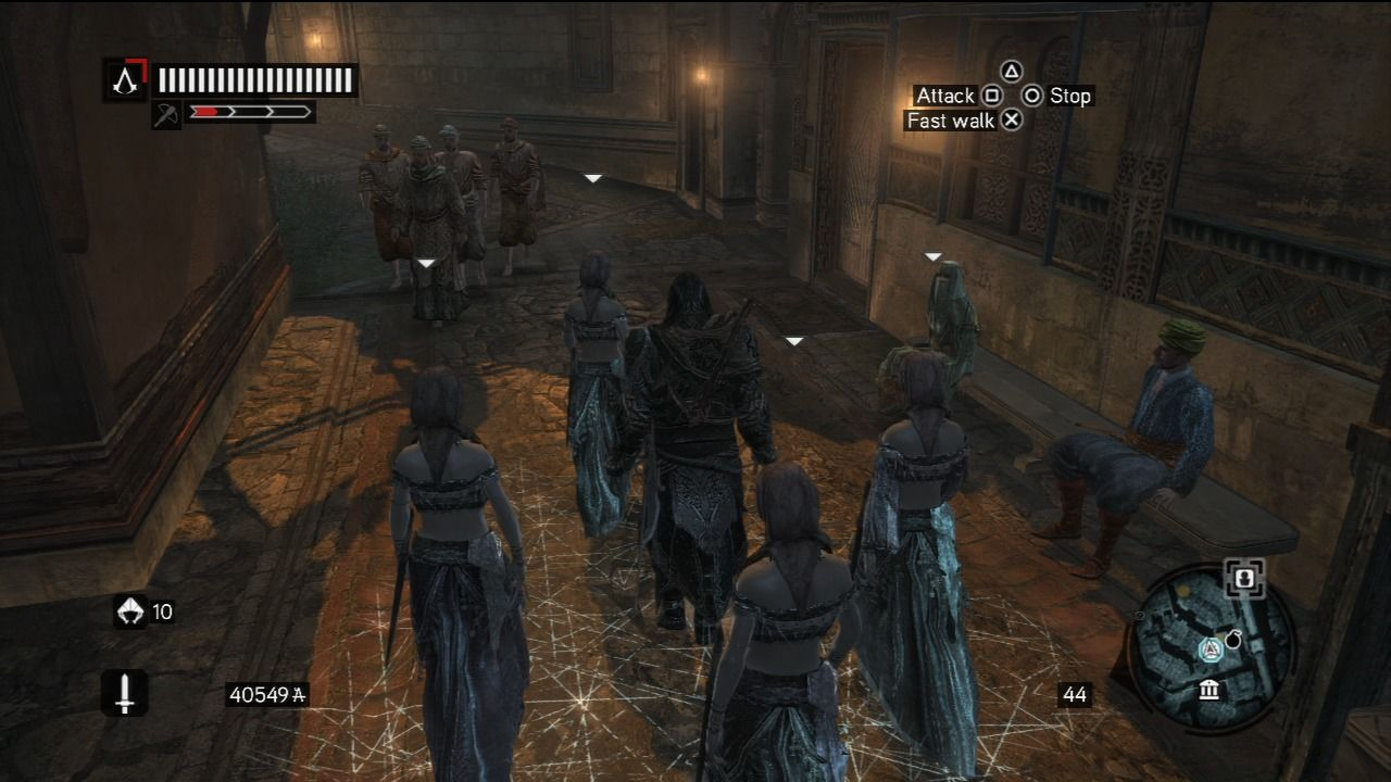 Assassin's Creed: Revelations PlayStation 3 All the crowd-blending elements from before are present in this game as well.