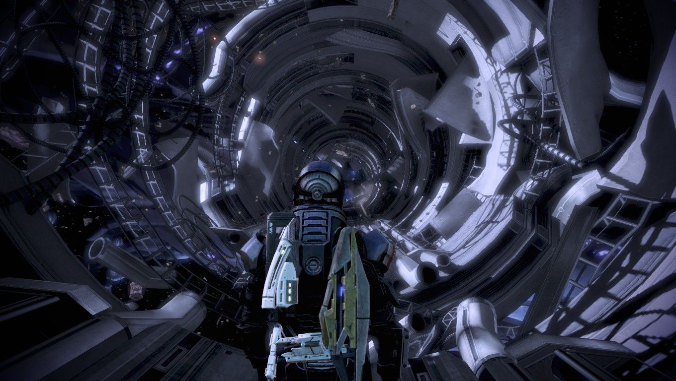 Mass Effect 3 Windows Going on a space walk