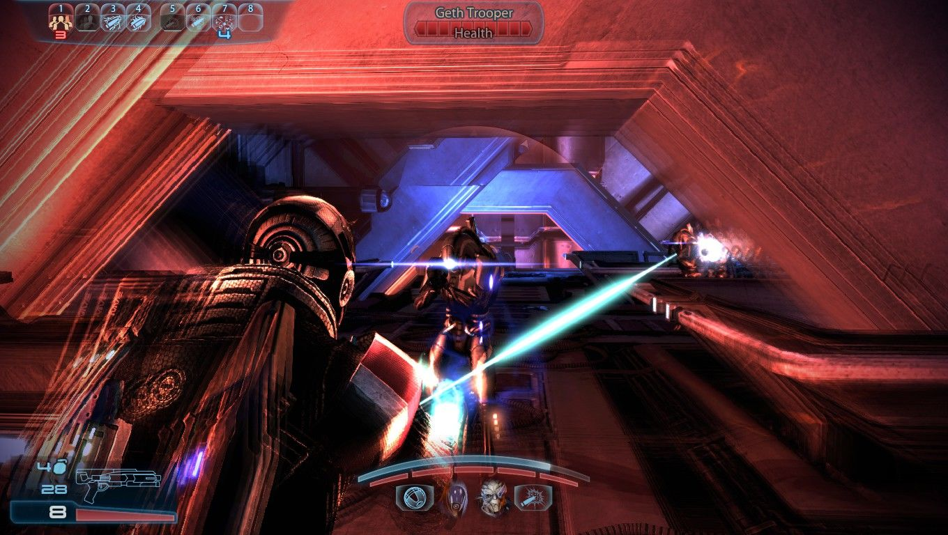 Mass Effect 3 Windows Slowing down time with Adrenaline Rush increases speed and accuracy.