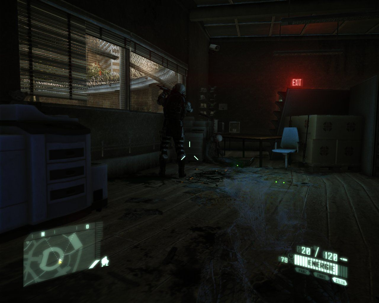 Crysis 2 Windows Approaching an enemy using stealth mode