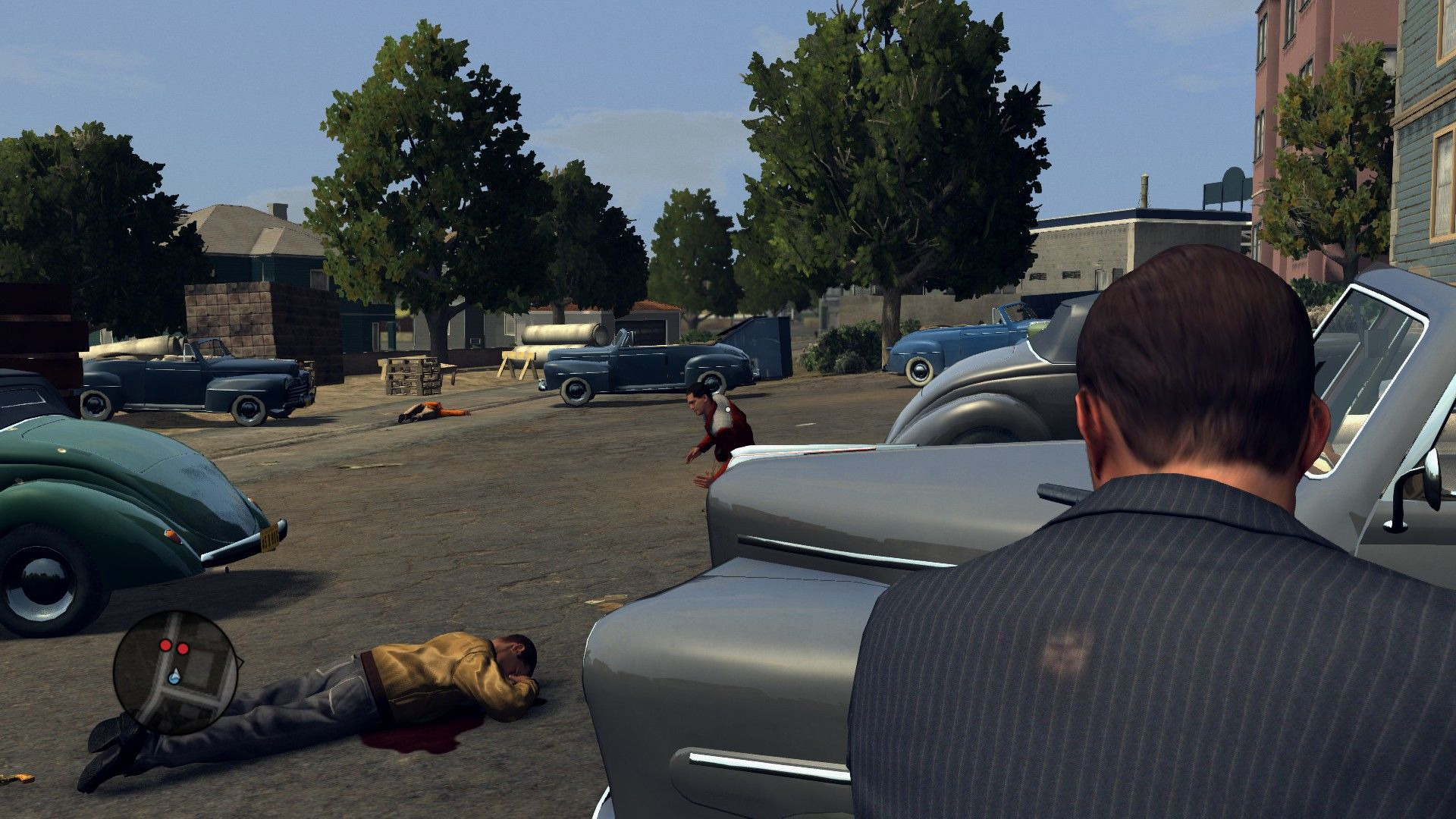 L.A. Noire: The Complete Edition Windows That's why a cop should always have his guns greased.