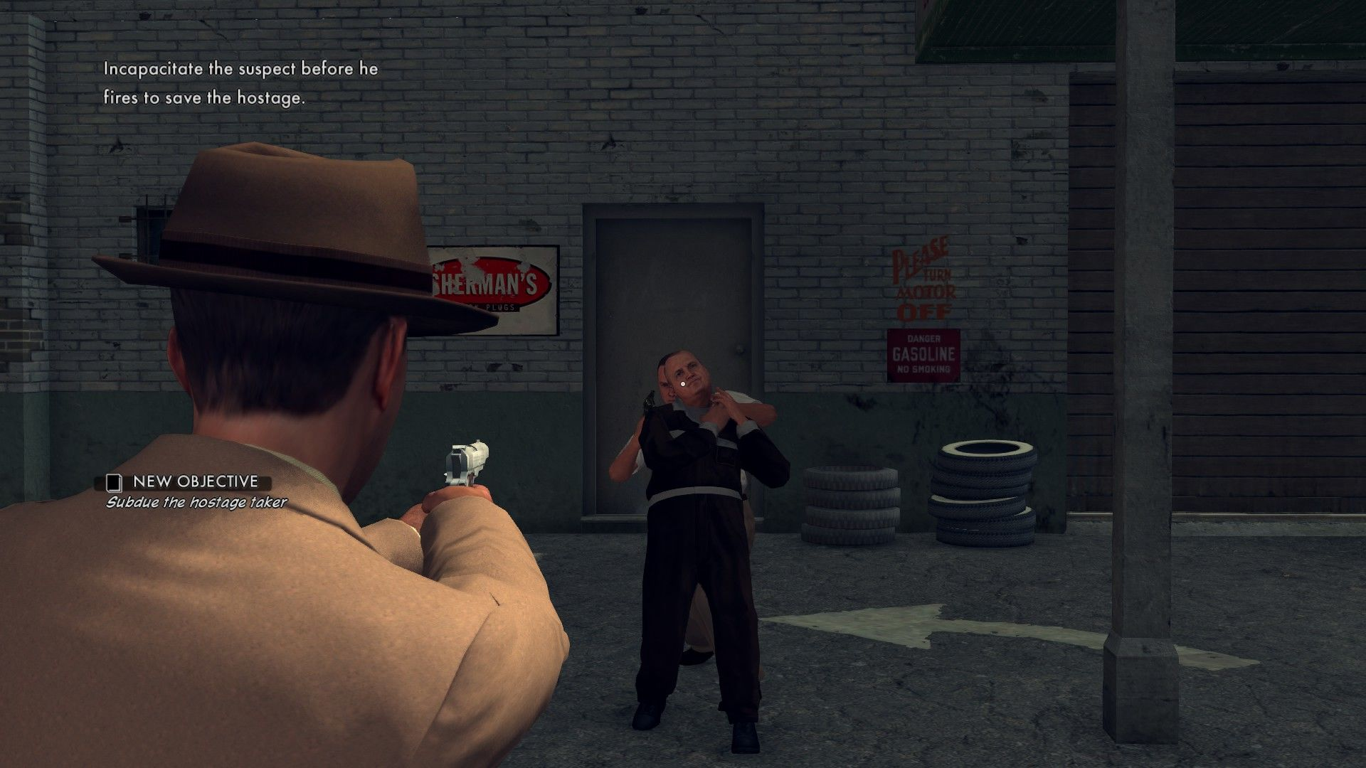 L.A. Noire: The Complete Edition Windows You certainly can't miss the head.