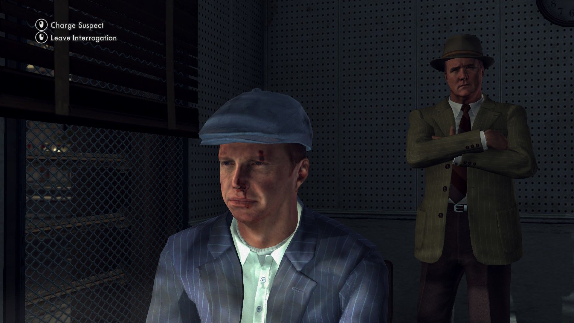 L.A. Noire: The Complete Edition Windows Sometimes you'll have to decide who of the suspects should be charged guilty. Choose wisely.