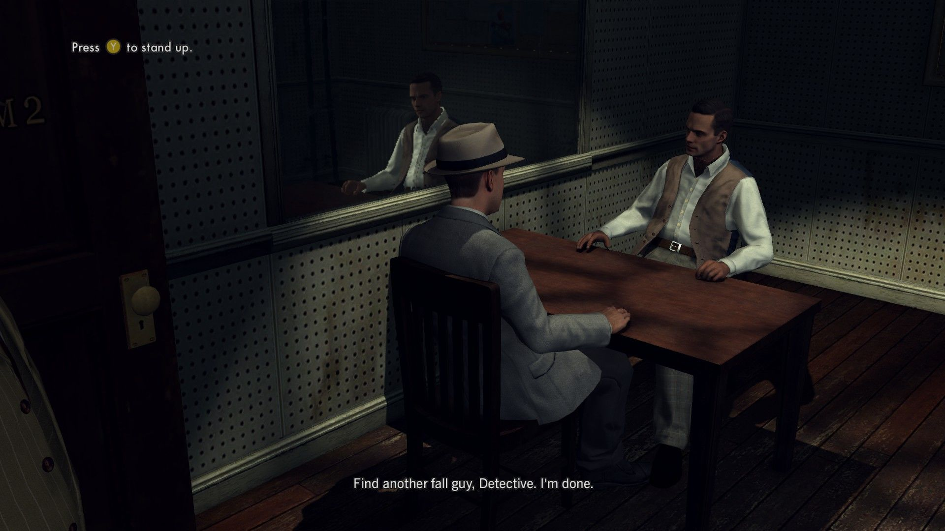 L.A. Noire: The Complete Edition Windows Not all interrogations bring the desired result.