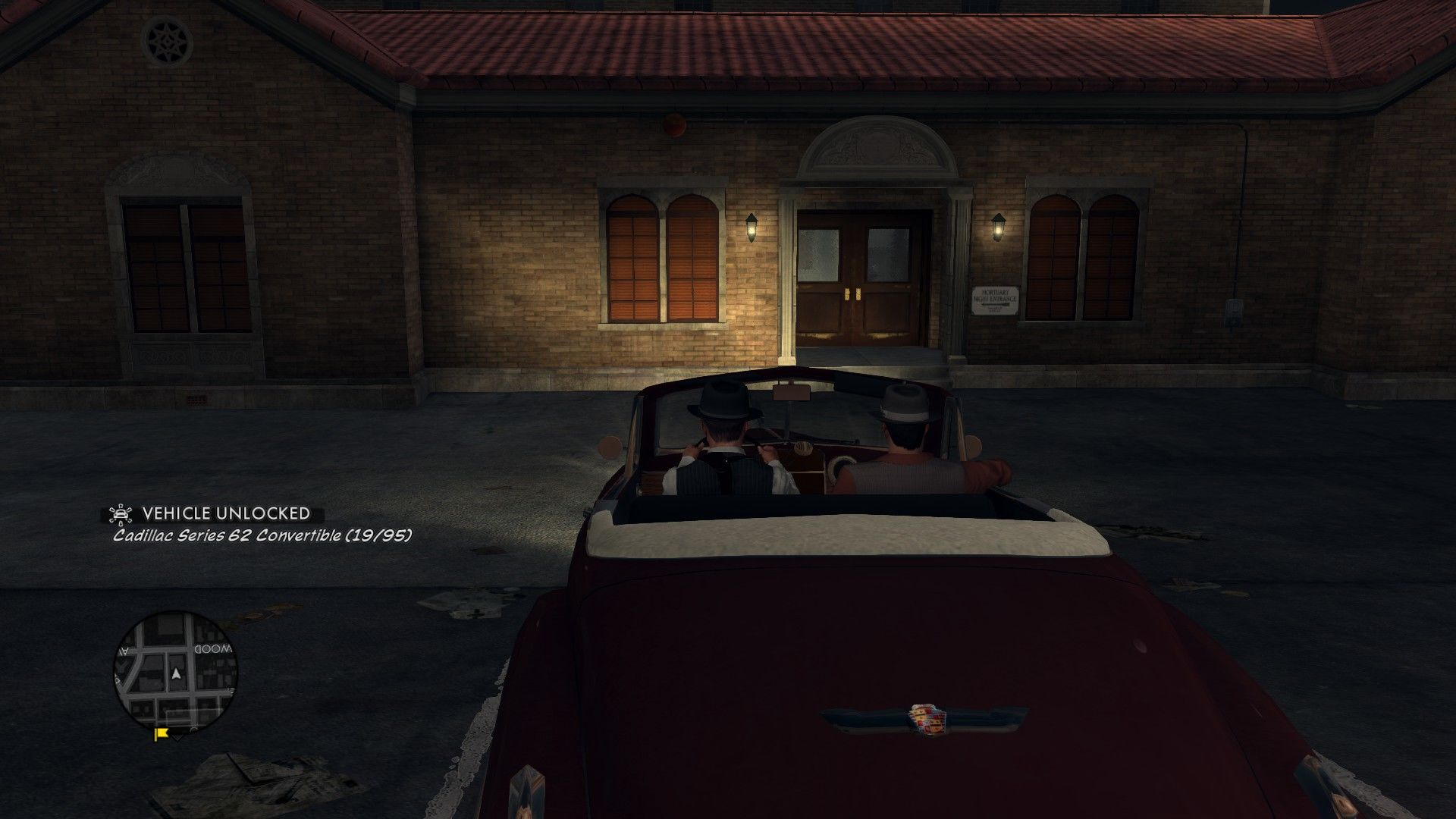 L.A. Noire: The Complete Edition Windows Using a car the first time unlocks it in the showroom.
