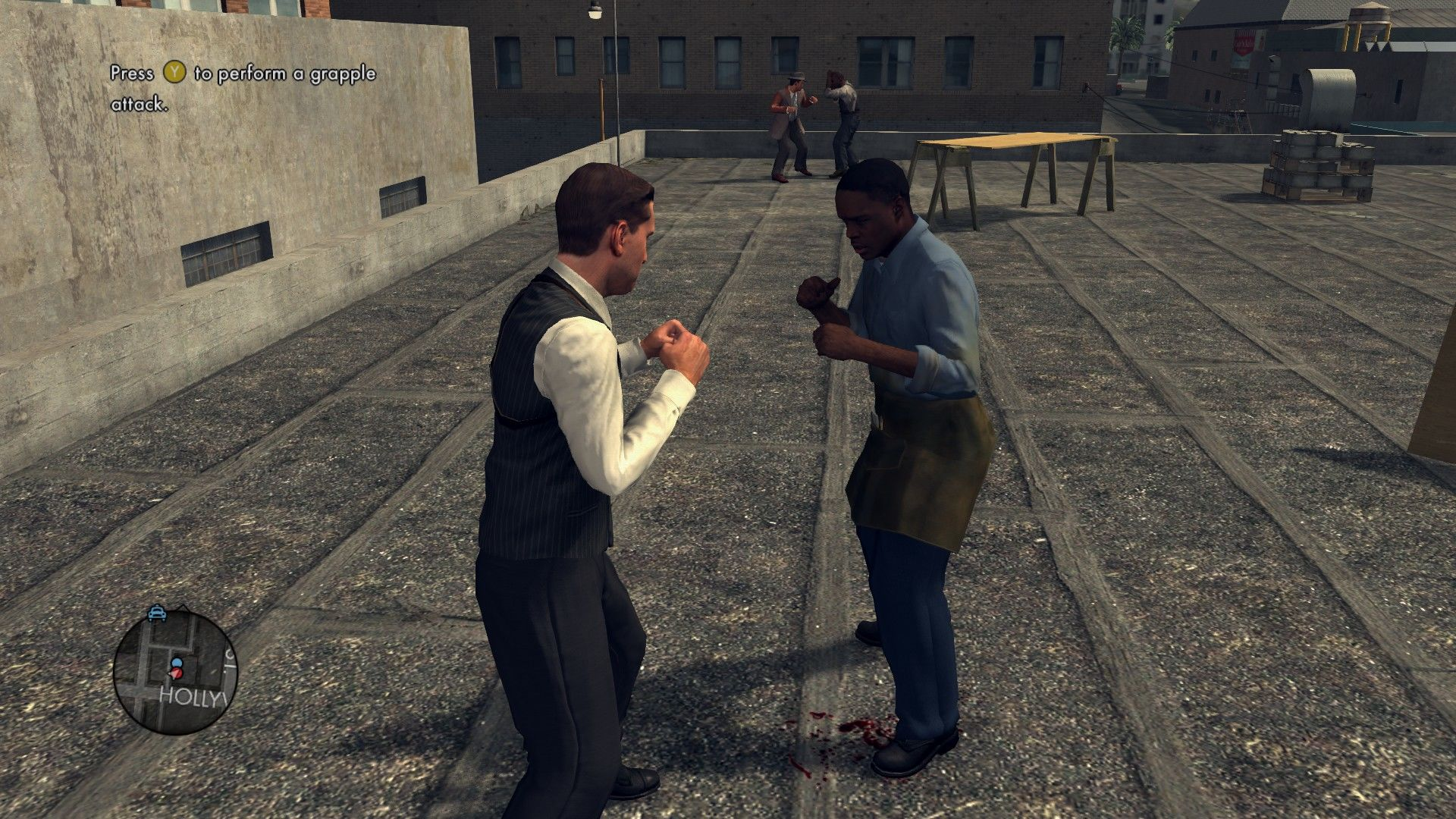 L.A. Noire: The Complete Edition Windows In the middle of a brawl