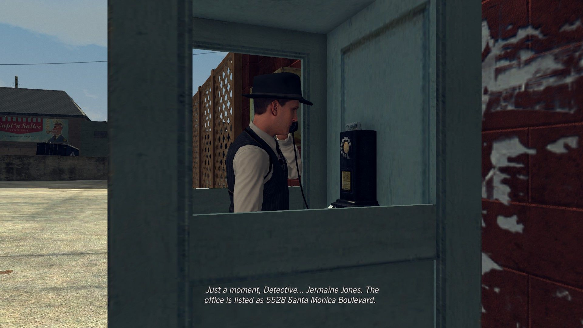 L.A. Noire: The Complete Edition Windows During the investigations, you'll have to contact the operator for information.