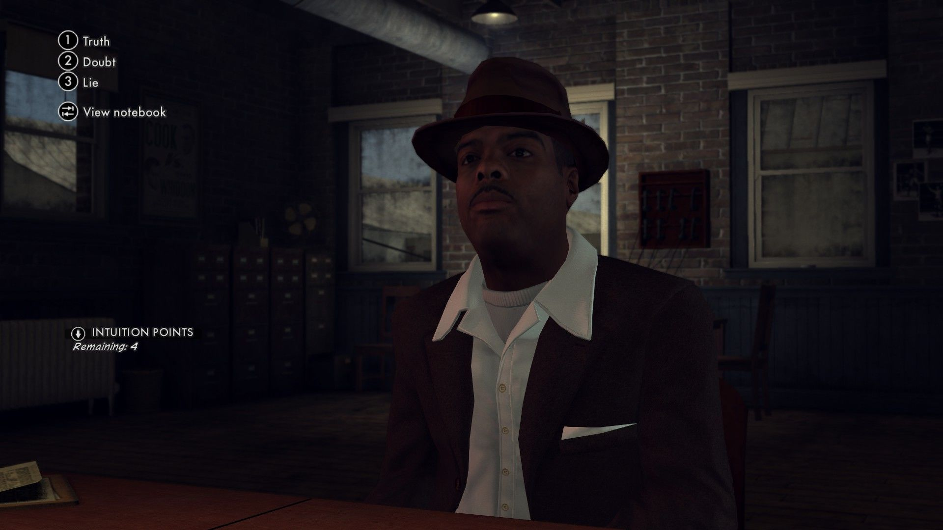 L.A. Noire: The Complete Edition Windows You should judge the answer by a person's behavior and reaction.