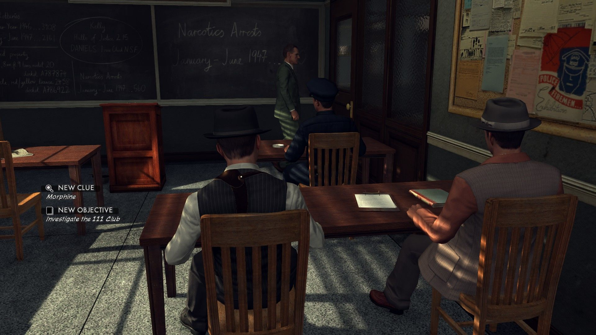 L.A. Noire: The Complete Edition Windows Each case starts with a briefing.