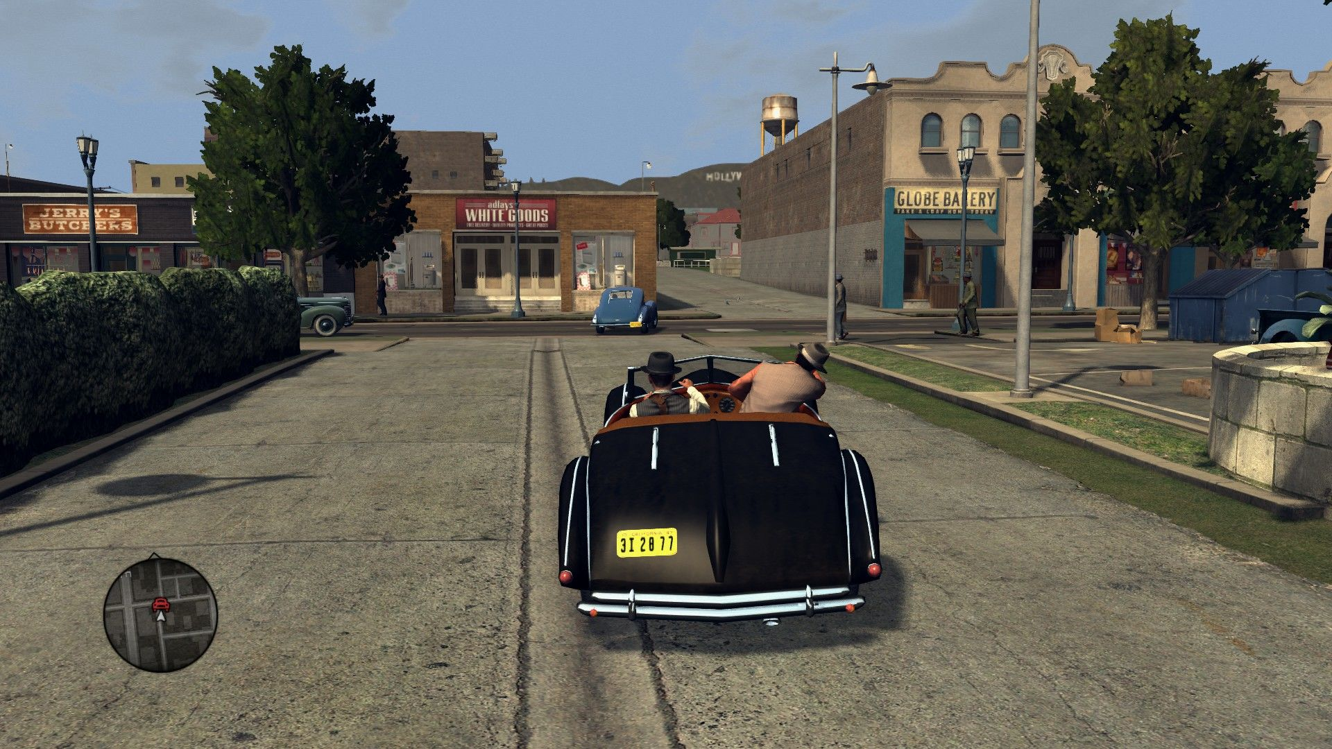 L.A. Noire: The Complete Edition Windows Most pursuits result in shooting the criminal's car tires.