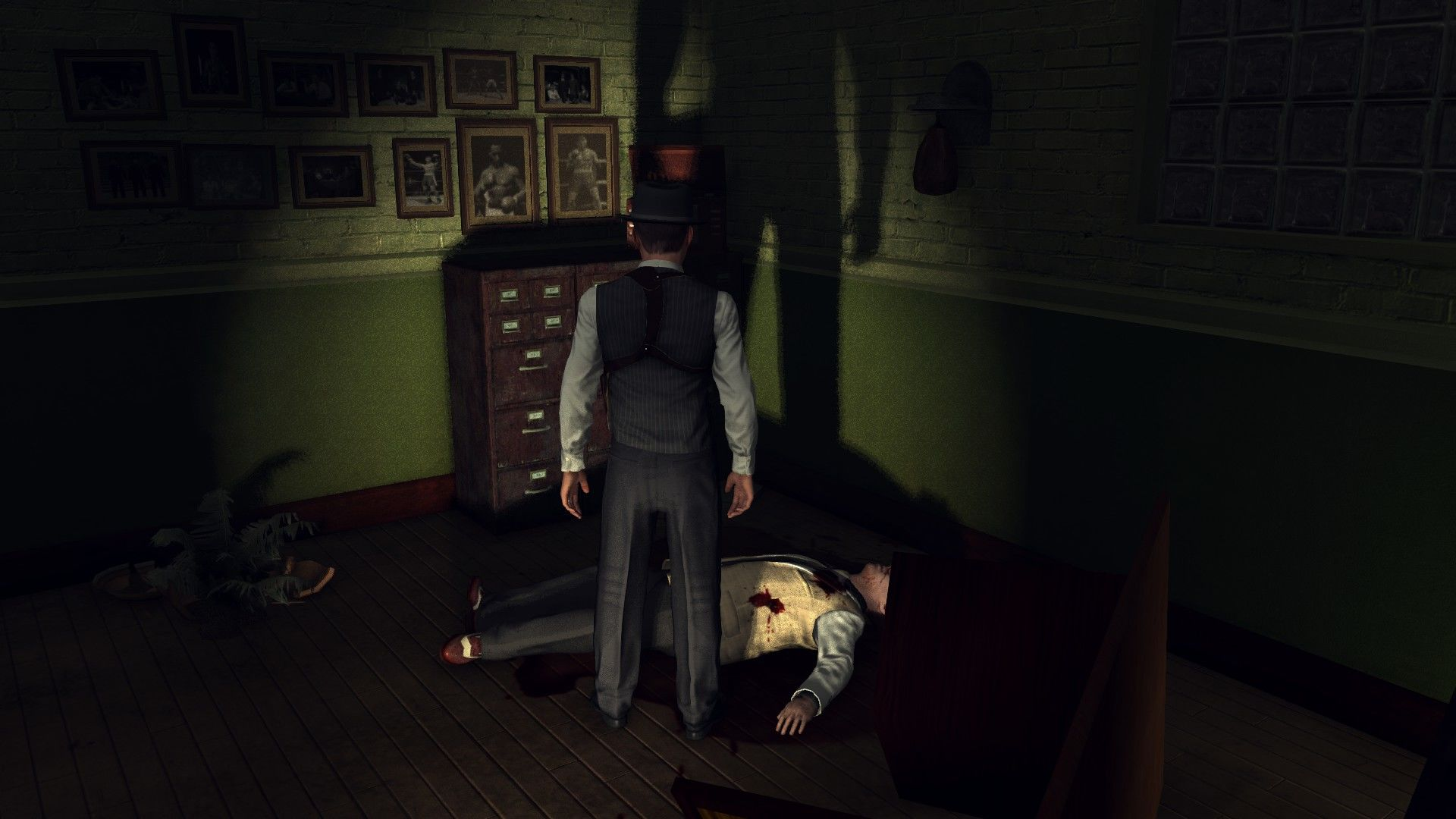 L.A. Noire: The Complete Edition Windows Investigating a crime scene.