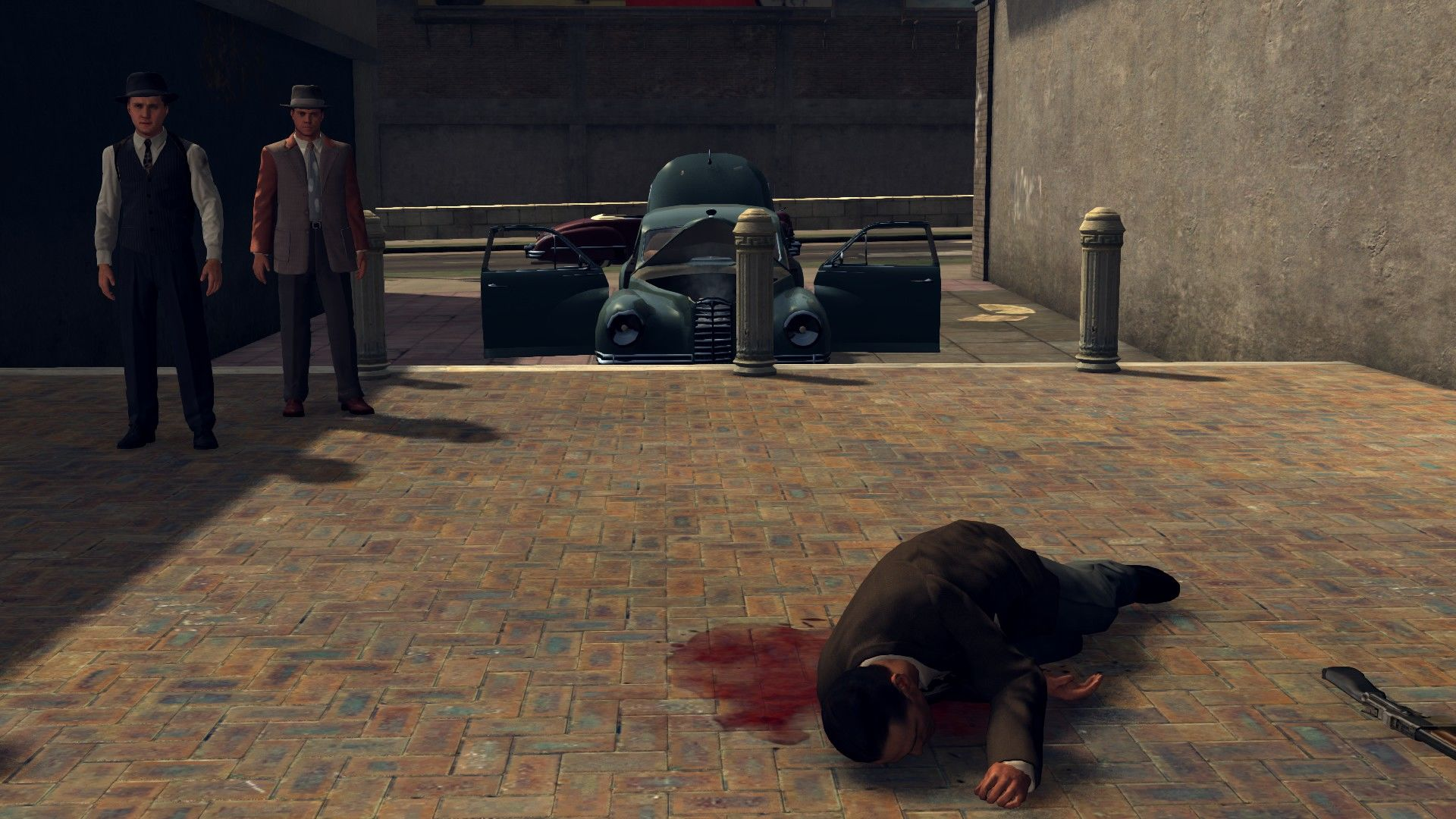 L.A. Noire: The Complete Edition Windows Result of a quick firefight.