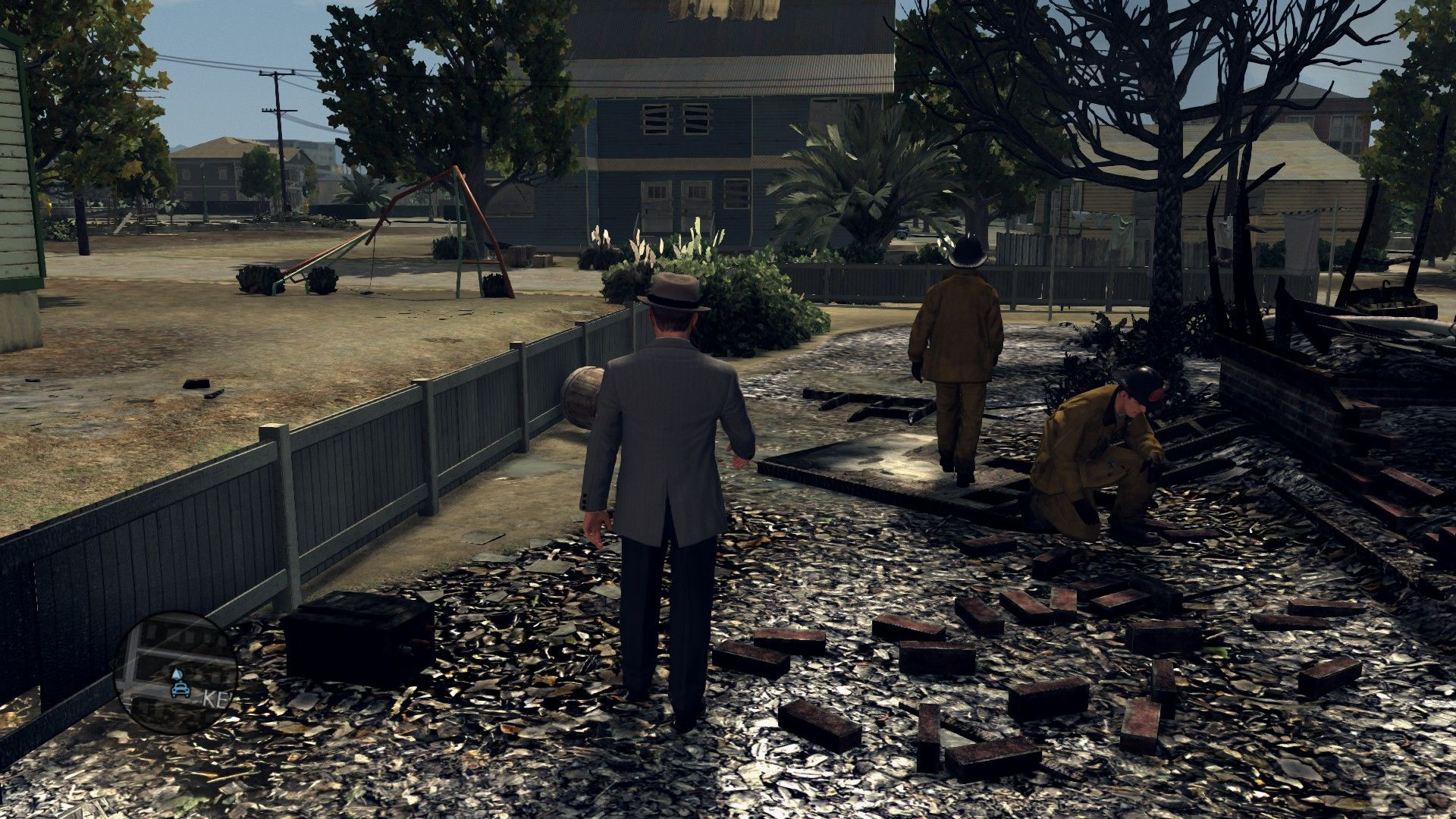 L.A. Noire: The Complete Edition Windows Searching for a clues. Or what is left of them.
