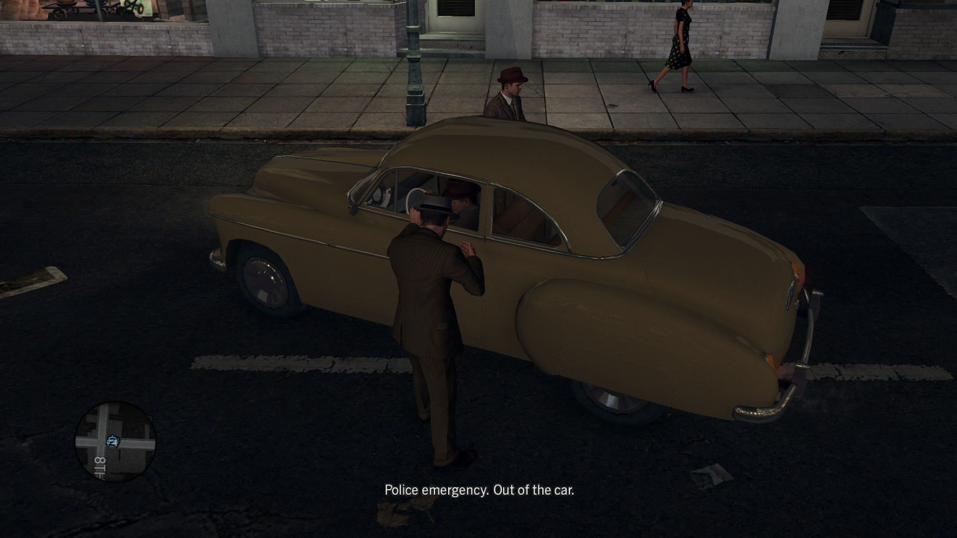 L.A. Noire: The Complete Edition Windows As an L.A. cop, you can confiscate almost any vehicle.
