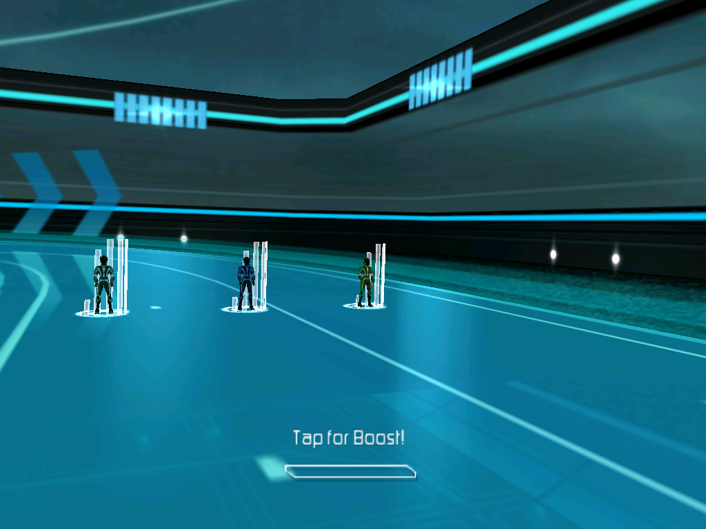 TRON: Legacy iPad Getting ready to race!