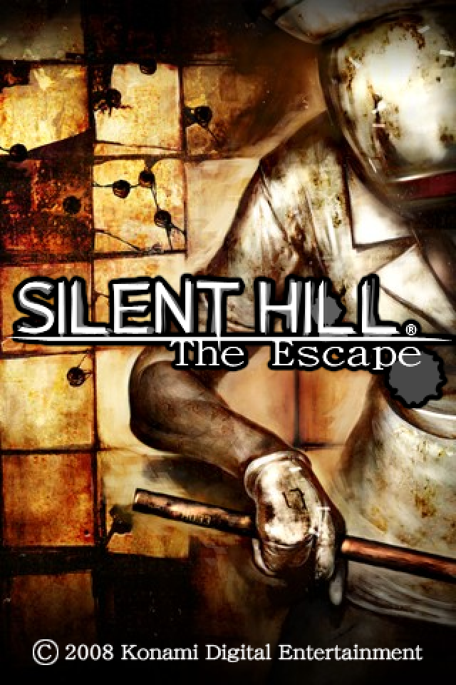 Silent Hill: The Escape iPhone Title screen.