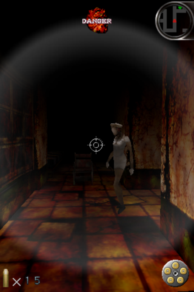 Silent Hill: The Escape iPhone A staple of the Silent Hill series; a nurse!