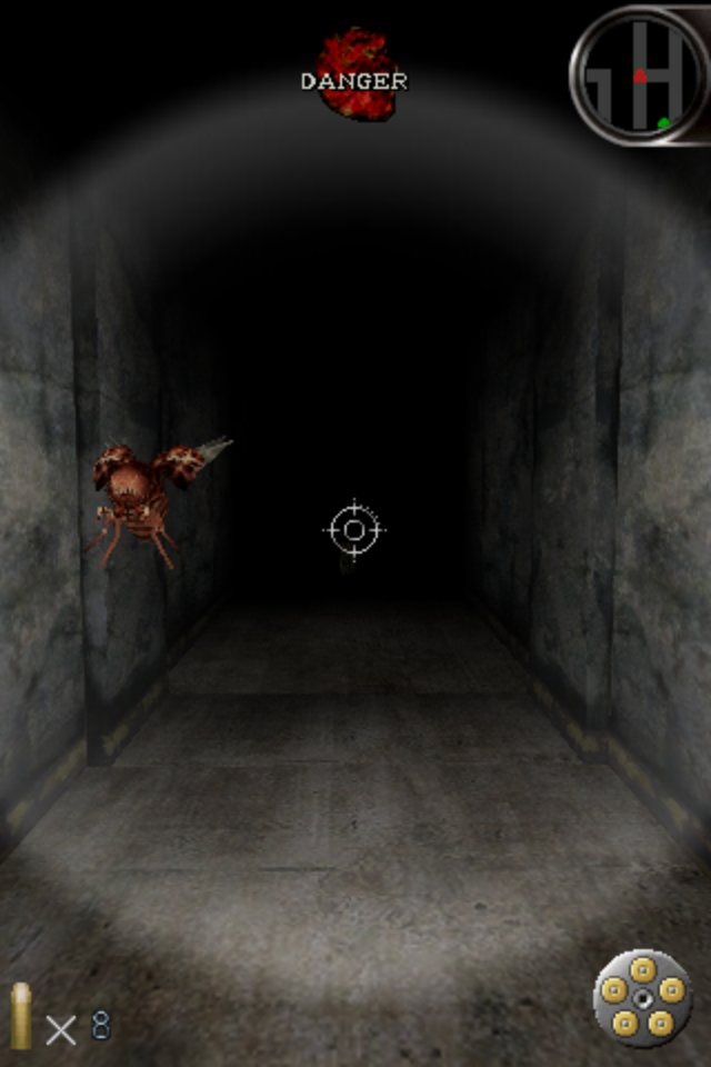 Silent Hill: The Escape iPhone This bug is one of the faster enemies in the game, so be quick or be dead!
