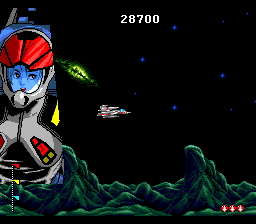 Chō Jikū Yōsai Macross 2036 TurboGrafx CD Some dialogue before the mission