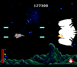 Chō Jikū Yōsai Macross 2036 TurboGrafx CD End boss of Stage 2