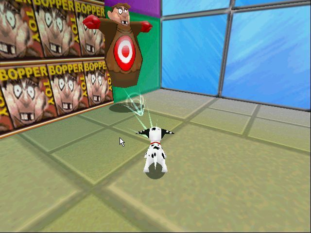 Disney's 102 Dalmatians: Puppies to the Rescue Windows One of the baddies from level 2. This one takes three barks to destroy
