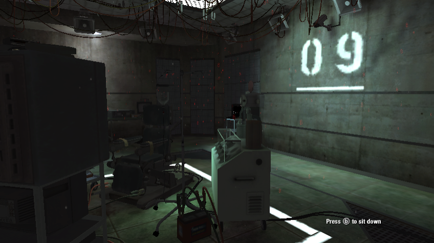 Call of Duty: Black Ops Wii Out of the chair Easter Egg