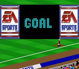 FIFA International Soccer SNES Goal