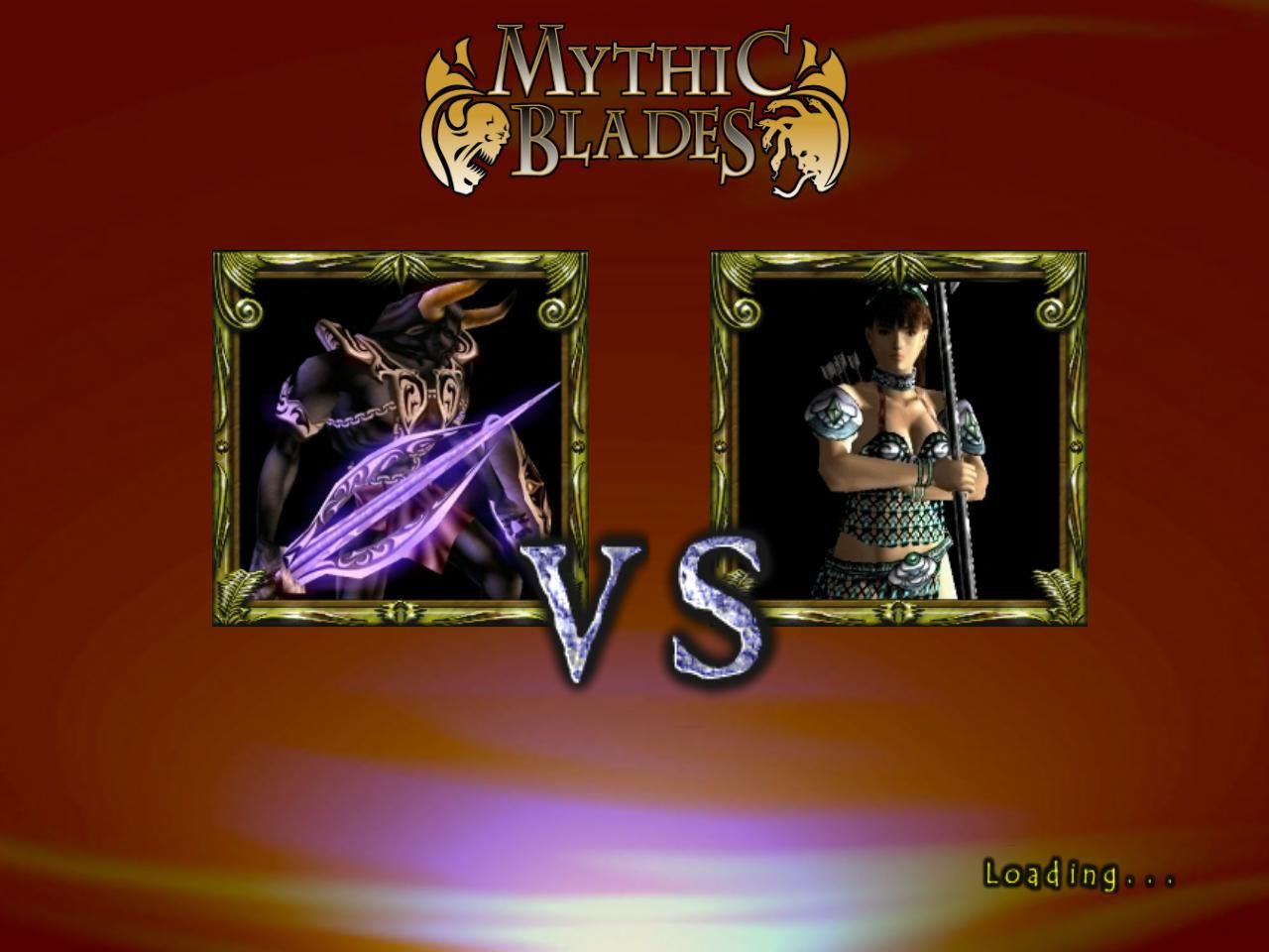 Mythic Blades Windows The battle is on! (demo version)