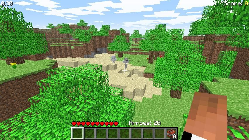 Minecraft Classic Browser Survival Test