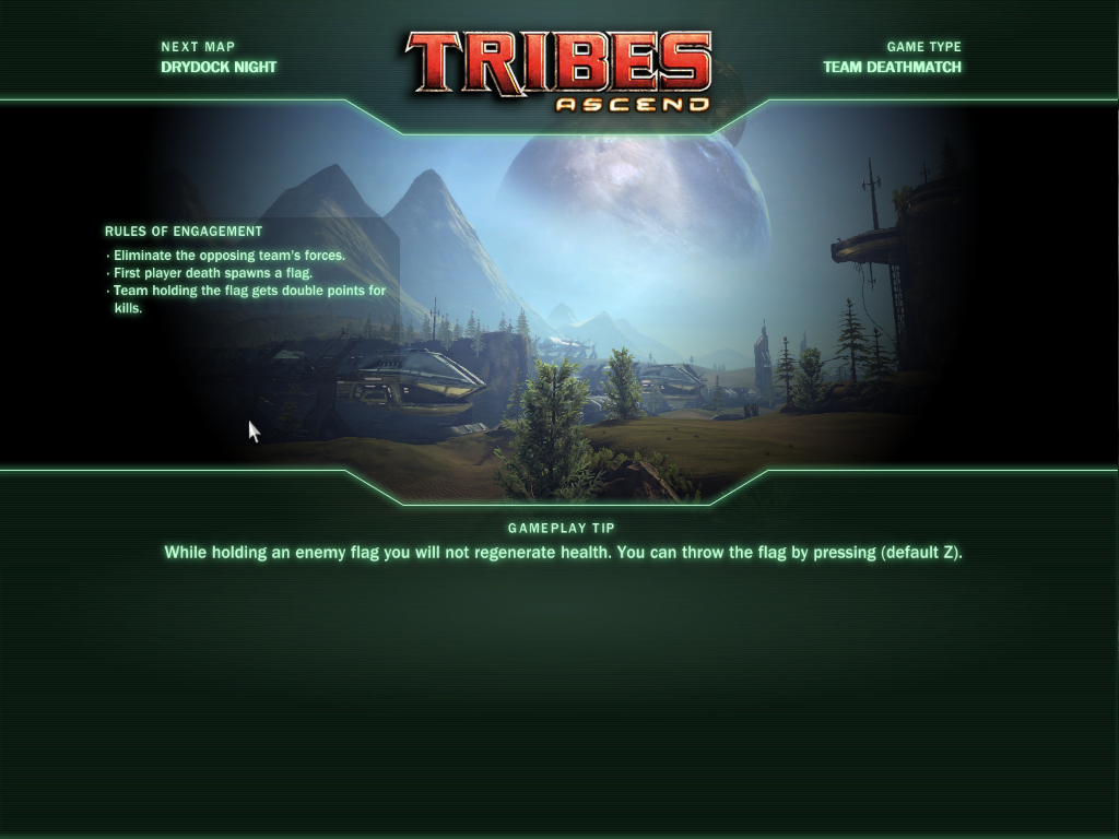 Tribes: Ascend Windows Yep, a loading screen.